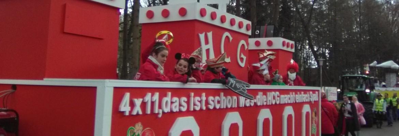 HCG Hasselt Bedburg Hau Karneval 2016 in Kleve