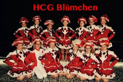 "WE WANT YOU Tanzgarde ""HCG Blümchen"""