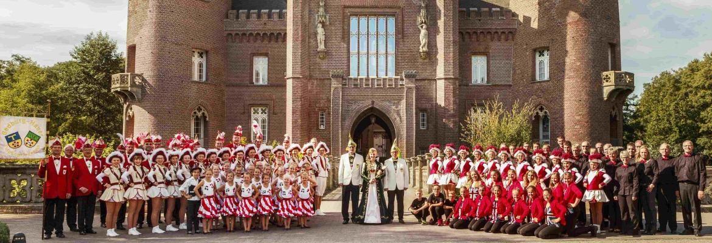 Karneval 2016-2017 HCG Hasselt Bedburg Hau Prinzessin Gruppe