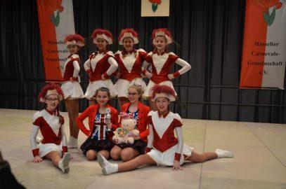 Wir gratulieren den HCG Blümchen zum 4. Platz beim Tanzturnier der Hasselter Carnevals-Gemeinschaft e.V.