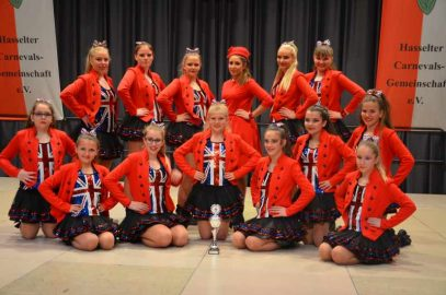 Wir gratulieren den HCG Girlies zum 2. Platz beim Tanzturnier der Hasselter Carnevals-Gemeinschaft e.V.