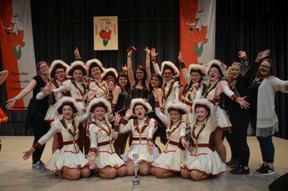 Wir gratulieren den HCG Sternchen zum 1. Platz beim Tanzturnier der Hasselter Carnevals-Gemeinschaft e.V.
