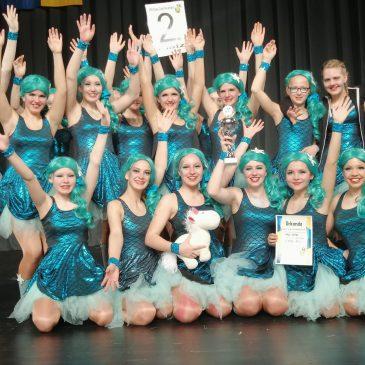 Die HCG gratuliert den HCG-Girlies zum 2.Platz