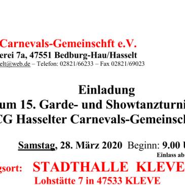 Anmeldung HCG-Tanzturnier 28.03.20